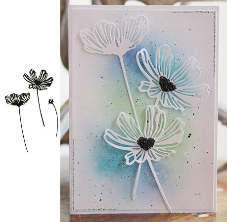 Flowers, Embossing, Craft, flowercuttingdie