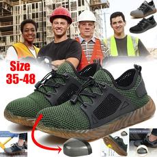 Steel, Men, workshoe, Breathable