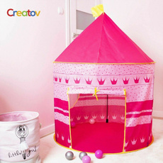 pink, tentforkid, playhouseforgirl, Sports & Outdoors