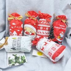 elk, Christmas, Gifts, Gift Bags