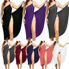 Summer, Plus Size, long dress, Tops