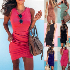 Fashion, Irregular, Dress, Women's Fashion