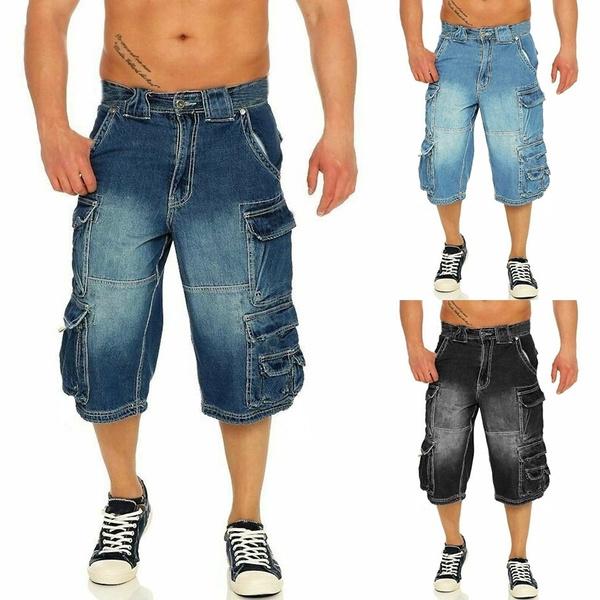 Summer, Shorts, pants, Denim