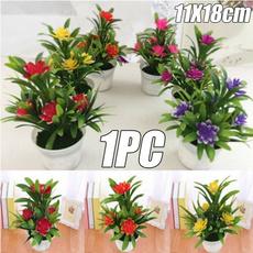 Bonsai, Mini, Plants, artificialpottedflower