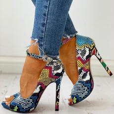 Summer, High Heel Shoe, Women Sandals, Womens Shoes