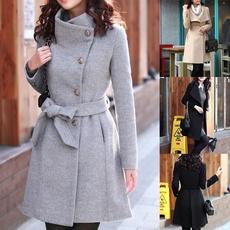 Casual Jackets, cardigan, Winter, Long Sleeve