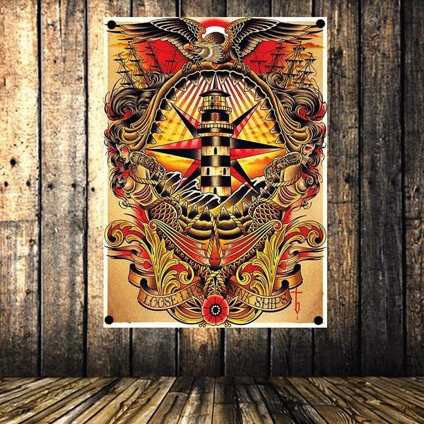 tattoo, School, Classics, Posters