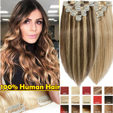 hair, Hair Extensions, Straight Hair, blackbrownblondegrey