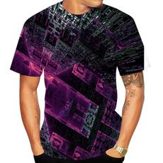 Summer, Shorts, opticalillusiontshirt, Shirt
