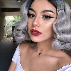 wig, Gray, graywig, Cosplay
