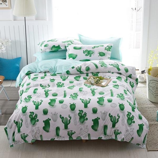 cactu, Quilt, 3dbedclothe, bedspreadscoverlet