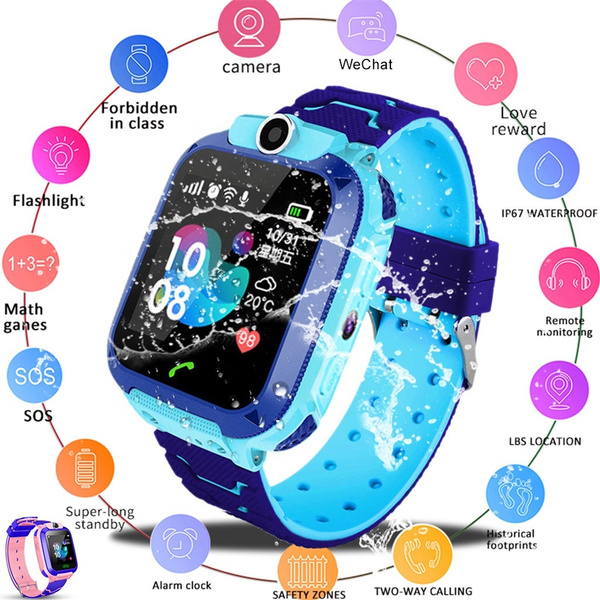 Waterproof, Waterproof Watch, Clock, telephonewatch