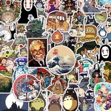 Car Sticker, hizaomiyazaki, hayaomiyazaki, Waterproof