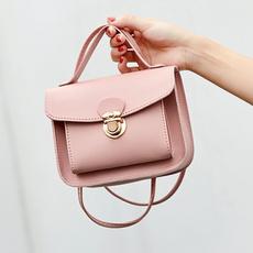 summerbag, Bags, squarebag, soildcolorbag