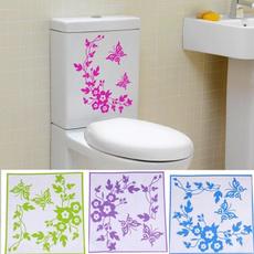butterfly, decoration, toiletlidsticker, bathroomsticker