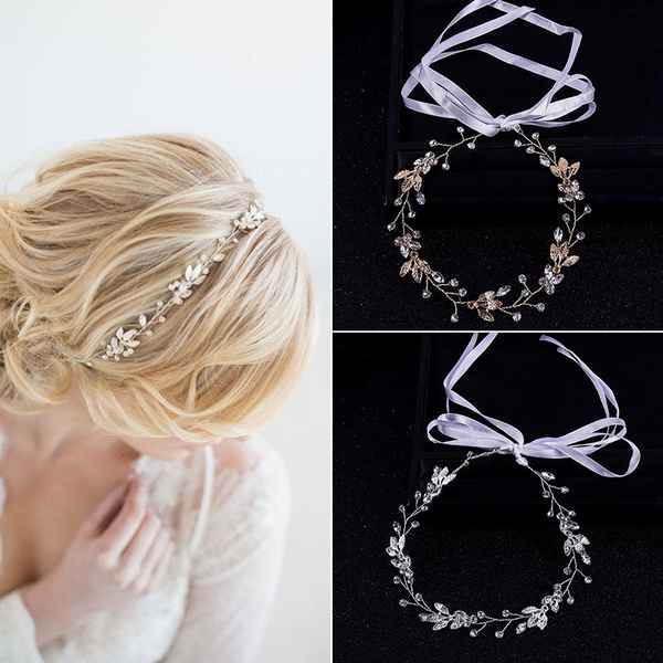 golden, hair, hair jewelry, Crystal
