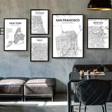 Map, citymap, Home Decor, Home & Living