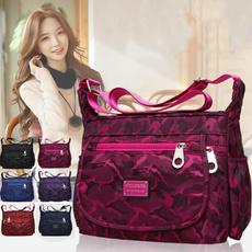 women bags, Shoulder Bags, Nylon, Waterproof