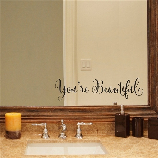 Beautiful, Home & Kitchen, Home & Living, Wall Decals & Stickers