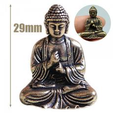 Brass, buddhastatue, Home Decor, Chinese