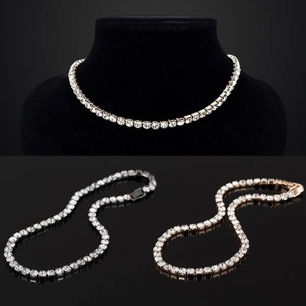 Chain Necklace, DIAMOND, Jewelry, Gifts