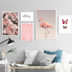 butterfly, nordicpicture, Flowers, Wall Art