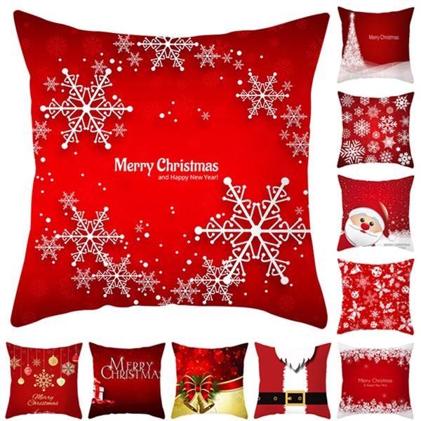 santaclaussofacover, Throw Pillow case, Christmas, peach