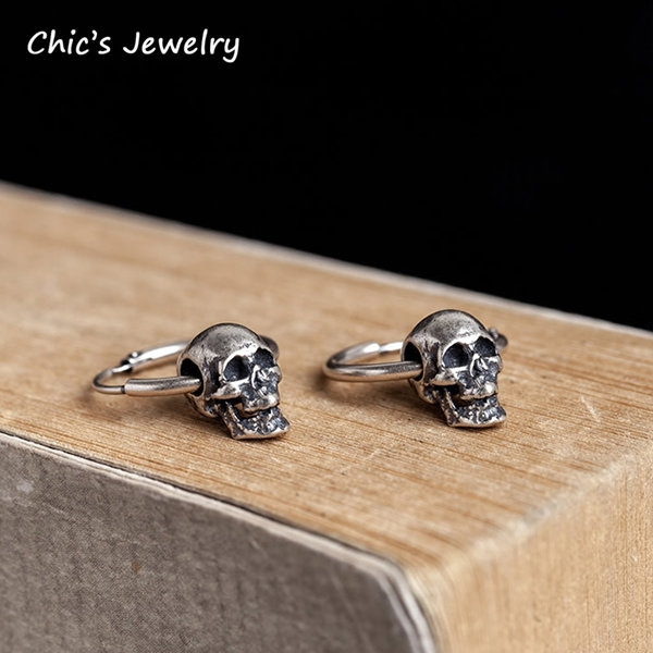 gothicearring, Design, punk earring, Gifts