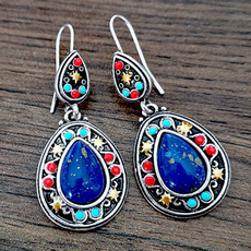 Blues, Silver Jewelry, Flowers, Jewelry