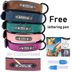dogcollartag, Dog Collar, leather, Pet Products