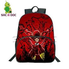 School, Backpacks, Men, Children
