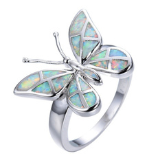 butterfly, Sterling, butterflyring, Fashion