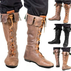 ankle boots, casual shoes, Cosplay, Lace