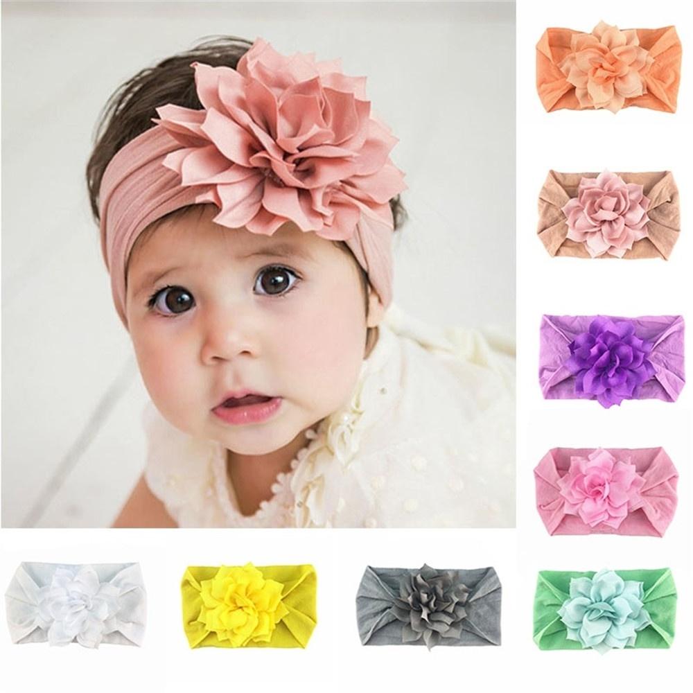 10pcs//Bag Nylon Elastic Headband Baby Girl Women Child Kid Hairband Accessories