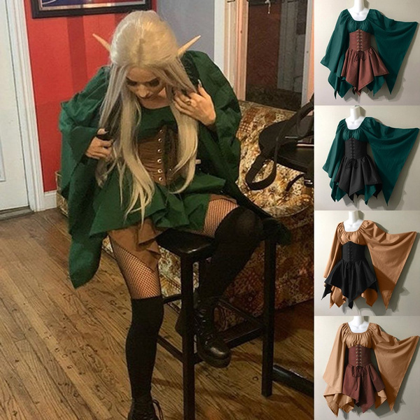 GOTHIC DRESS, medievaldres, halloweencostumeswomen, Medieval