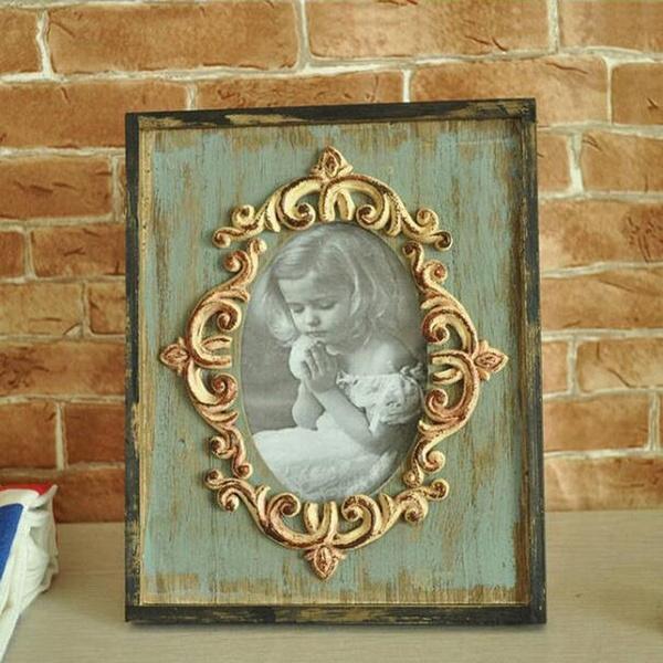 Photo Frame, desktopornament, retrocountrystyle, Home Decor