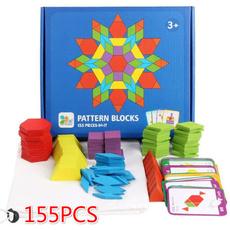 multiolor, tangram, Gifts, Wooden
