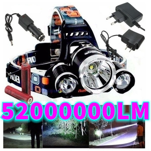 led, Outdoor Sports, charger, Head Light