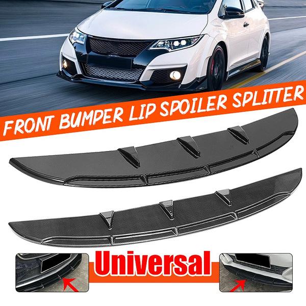 Universal Front Bumper Lip Spoiler for Holden Ford Audi Benz Alfa Citroen Kia VW