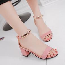 Summer, Sandals, korea, korean style