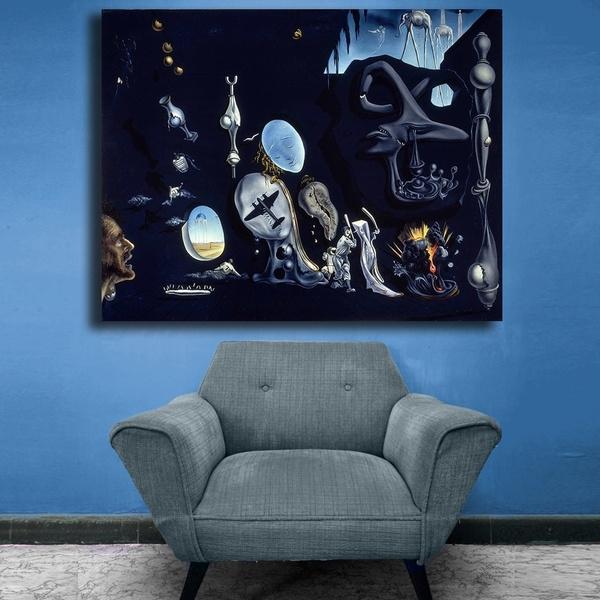 canvasoilpainting, salvadordali, art, postersampprint