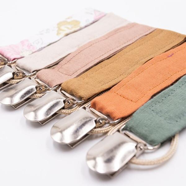 pacifierholder, cottonlinen, Chain, nipplesootherchain