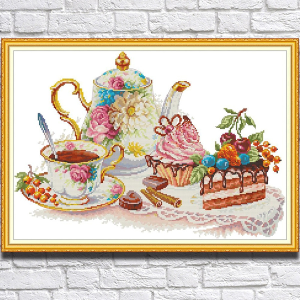 crossstitch, Home Decor, crossstitchkit, countedcrossstitch
