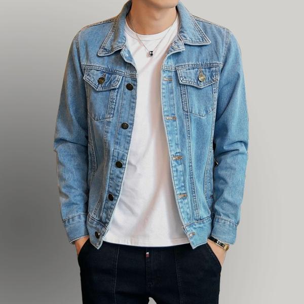 Fashion, Classics, denim jacket, Men