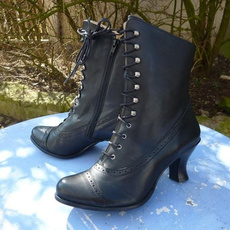 Fashion, steampunkboot, Boots, Women's Fashion