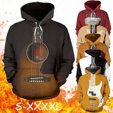 3D hoodies, Fashion, art, pullover hoodie