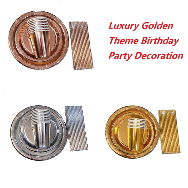 Birthday, golden, Wedding Supplies, Wedding