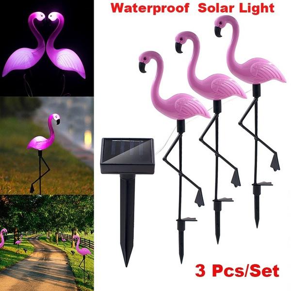 groundspotlight, Decorative, flamingo, led