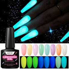 Nails, Beauty, glowingnailpolish, Nail Polish