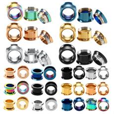 Steel, earplug, earexpander, piercingjewelry
